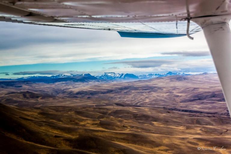 Au loin, la Cordillère, Patagonie