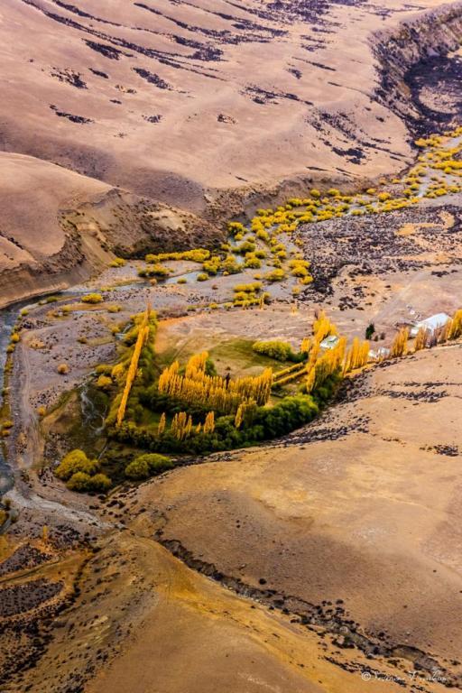 Hacienda perdue, Patagonie