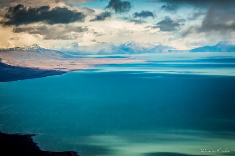 Bleu glacé, Patagonie