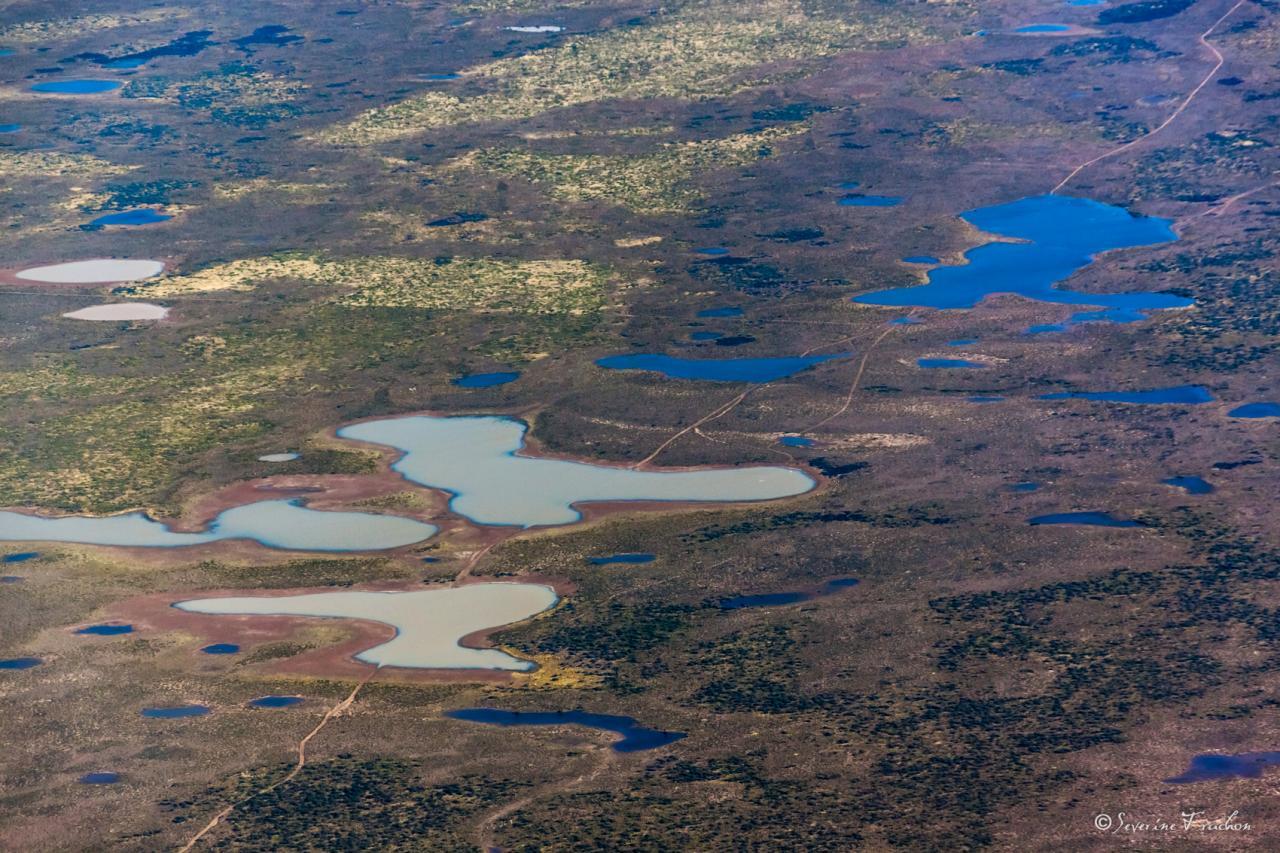 Flaques d'eau, Argentine
