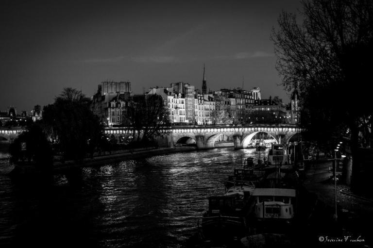 Pont-Neuf à la Robert Doisneau